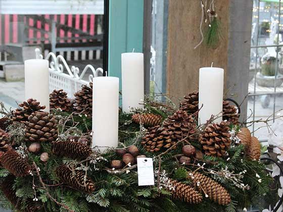 Adventsausstellung im glottertal bei blumen rombach for Weihnachtstrends 2016 floristik